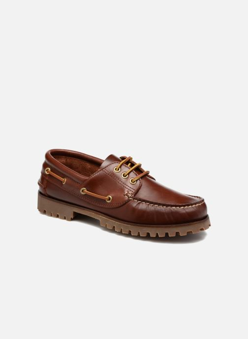 Lace-up shoes Marvin&co Smount Brown detailed view/ Pair view