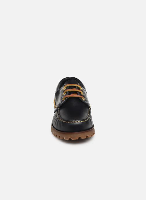 Zapatos con cordones Marvin&Co Smount Azul vista del modelo
