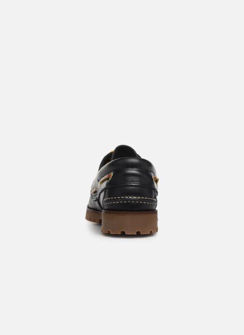 Zapatos con cordones Marvin&Co Smount Azul vista lateral derecha