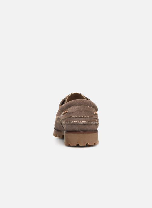 Chaussures à lacets Marvin&Co Smount Gris vue droite