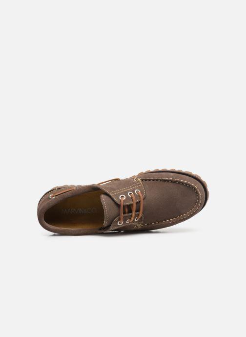 Chaussures à lacets Marvin&Co Smount Gris vue gauche