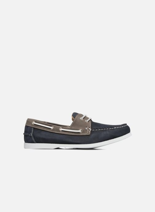 Lace-up shoes Marvin&co Satingh Blue back view