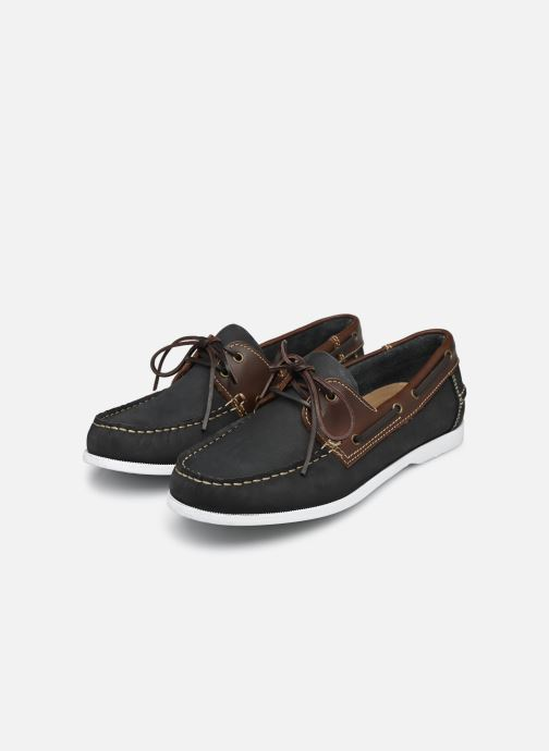 Zapatos con cordones Marvin&Co Satingh Azul vista de abajo