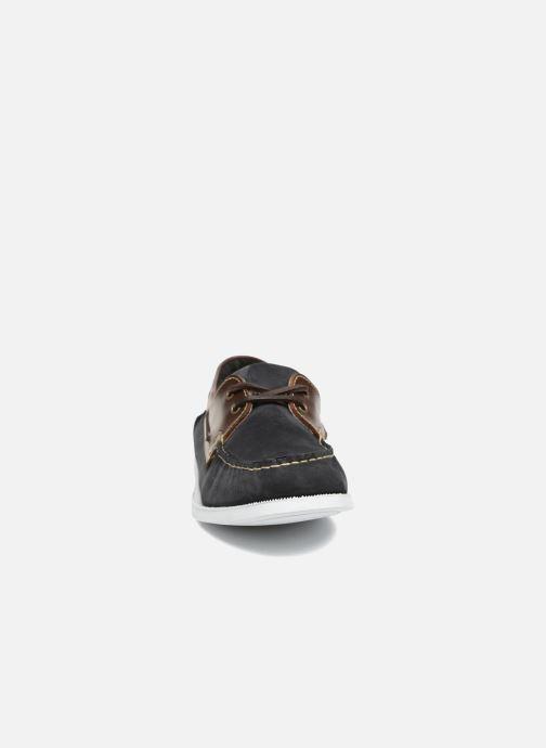 Chaussures à lacets Marvin&Co Satingh Bleu vue portées chaussures