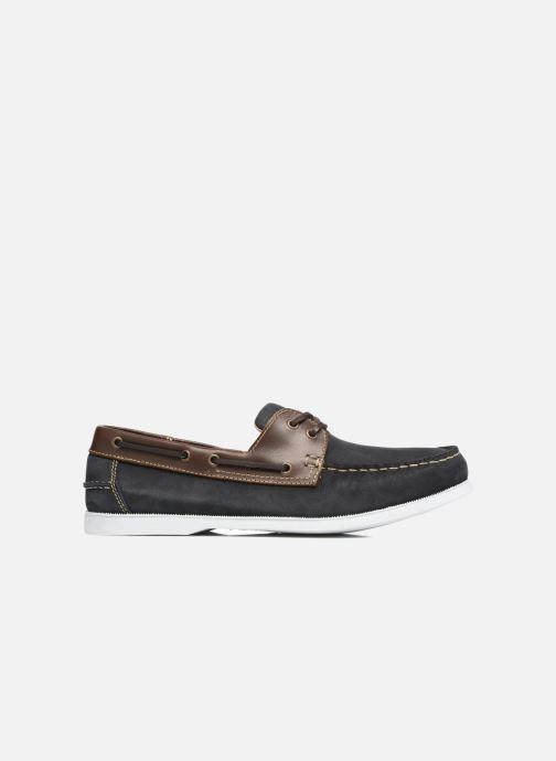 Zapatos con cordones Marvin&Co Satingh Azul vistra trasera