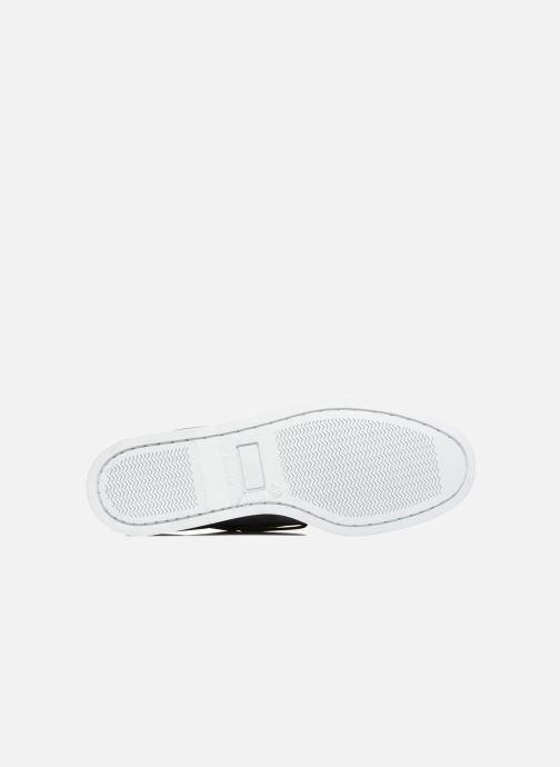 Chaussures à lacets Marvin&Co Satingh Bleu vue haut