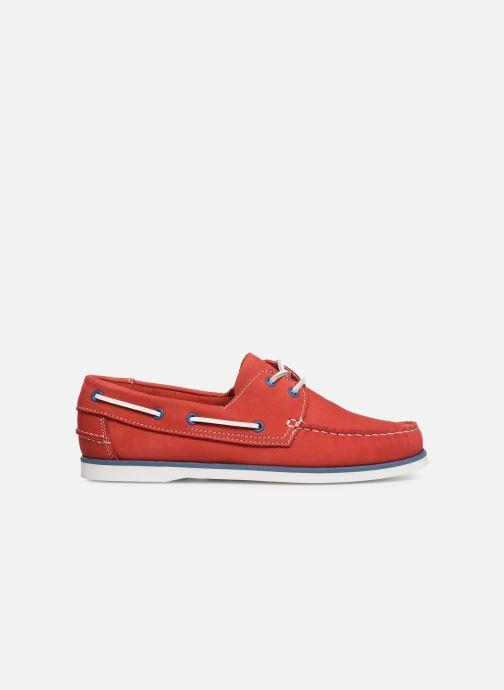 Zapatos con cordones Marvin&Co Satingh Rojo vistra trasera