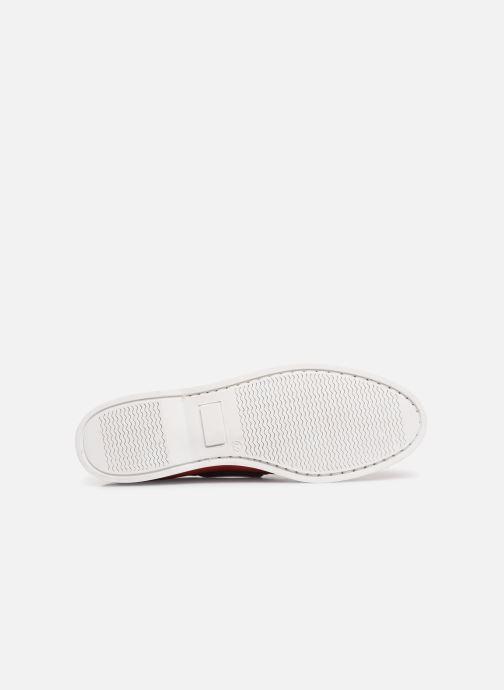 Chaussures à lacets Marvin&Co Satingh Rouge vue haut