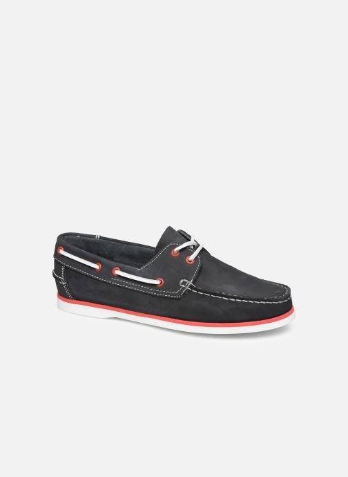 Zapatos con cordones Marvin&Co Satingh Azul vista de detalle / par