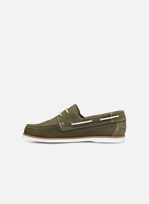 Chaussures à lacets Marvin&Co Satingh Vert vue face
