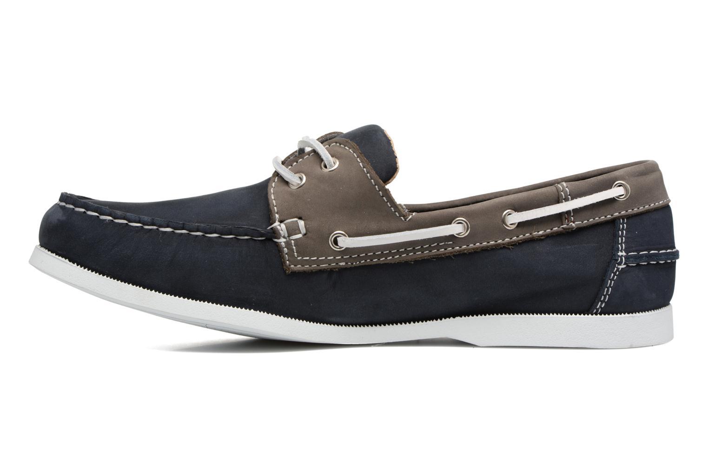 Chaussures à lacets Marvin&Co Satingh Bleu vue face