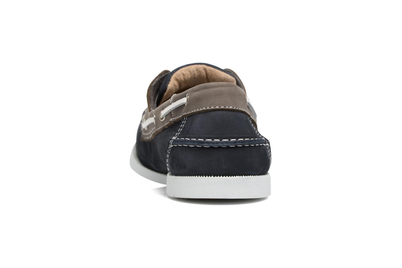 Chaussures à lacets Marvin&Co Satingh Bleu vue droite