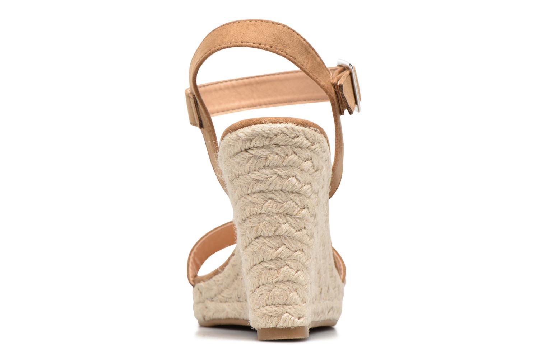 Sandalias ONLY Amelia Etno Heeled Sandal Verde vista lateral derecha