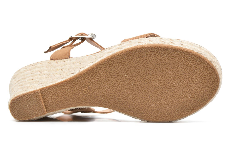 Sandalias ONLY Amelia Etno Heeled Sandal Verde vista de arriba
