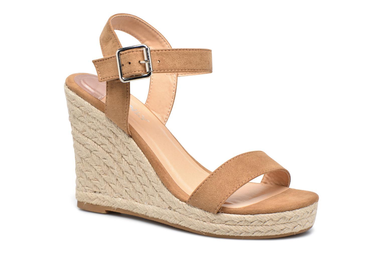 Sandalias ONLY Amelia Etno Heeled Sandal Verde vista de detalle / par