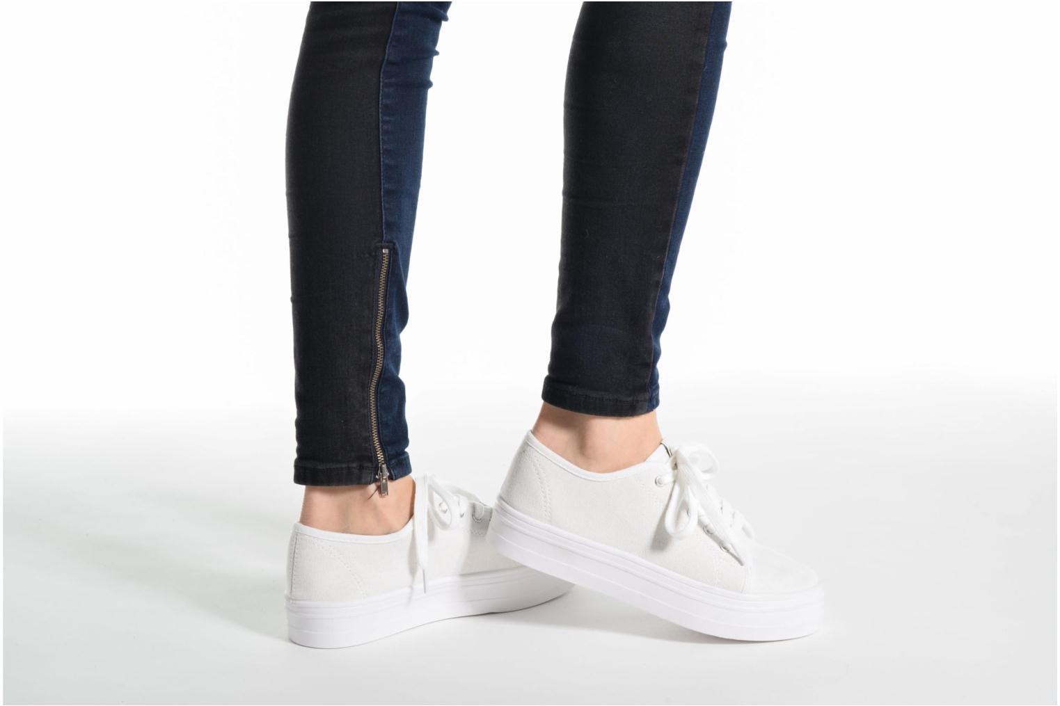 Sneakers ONLY Sarina Plain Sneaker Wit onder
