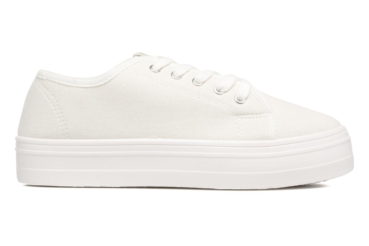 Sneakers ONLY Sarina Plain Sneaker Bianco immagine posteriore