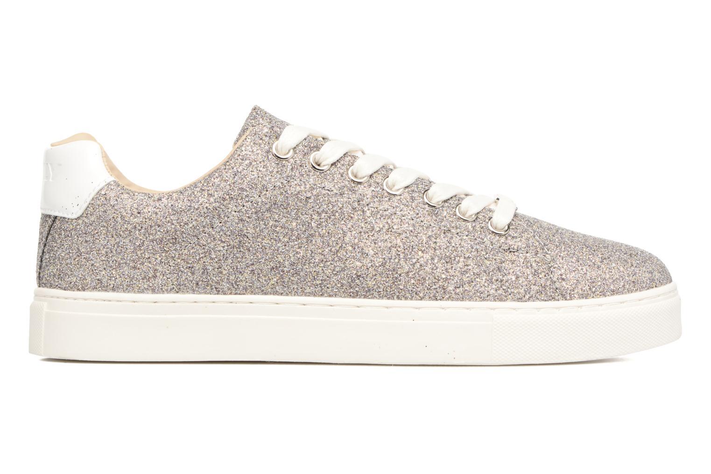 Sneakers ONLY Suzy Glitter Sneaker Zilver achterkant