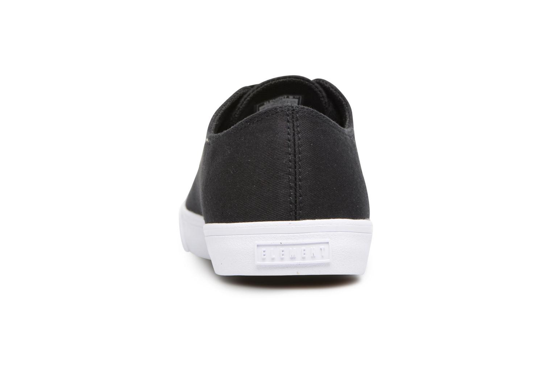 Sneakers Element Spike Zwart rechts
