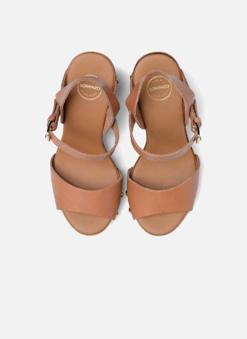 Sandalias Made by SARENZA Tennesse Sister #4 Marrón vista del modelo