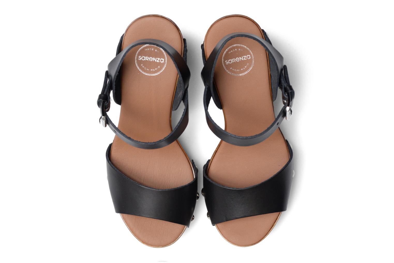 Sandales et nu-pieds Made by SARENZA Tennesse Sister #4 Noir vue portées chaussures