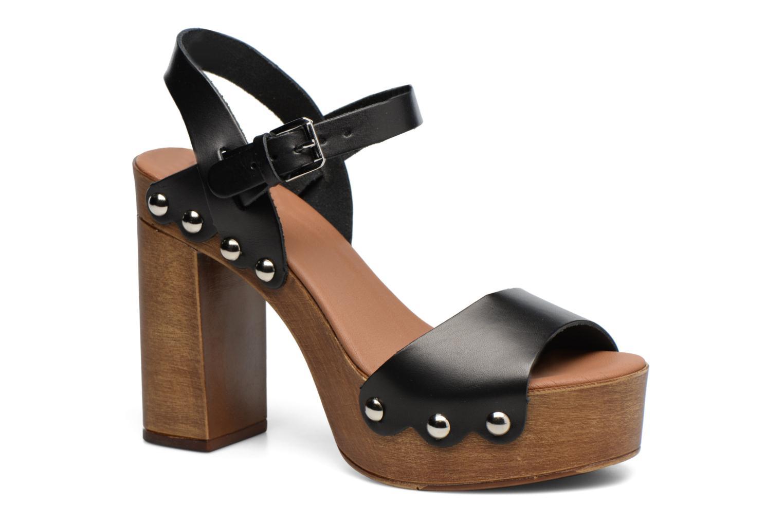 Sandales et nu-pieds Made by SARENZA Tennesse Sister #4 Noir vue droite