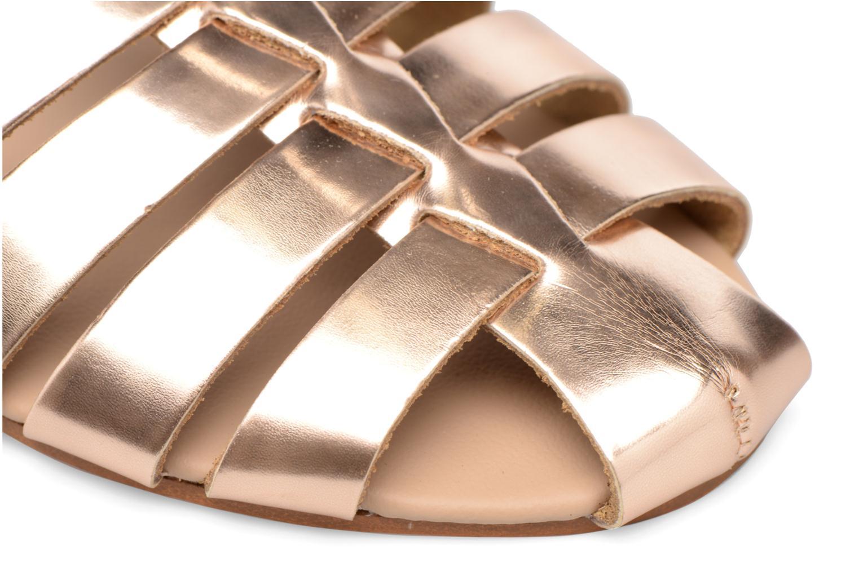 Sandalias Made by SARENZA Pastel Belle #1 Oro y bronce vista lateral izquierda