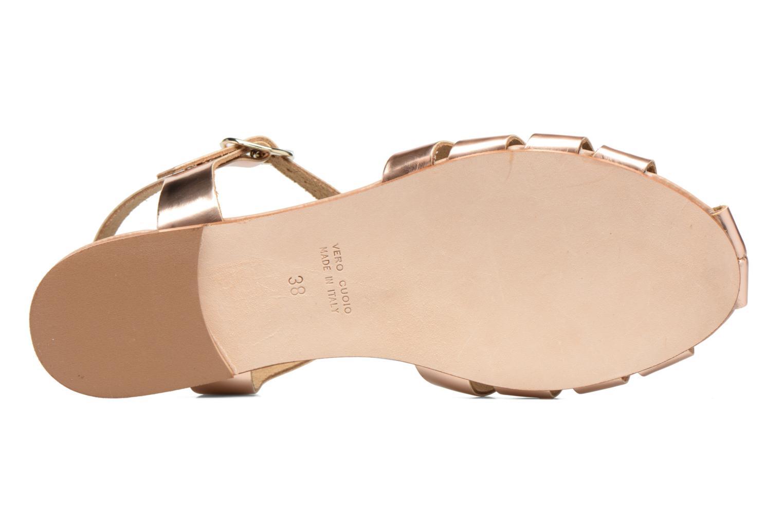 Sandalias Made by SARENZA Pastel Belle #1 Oro y bronce vista de arriba