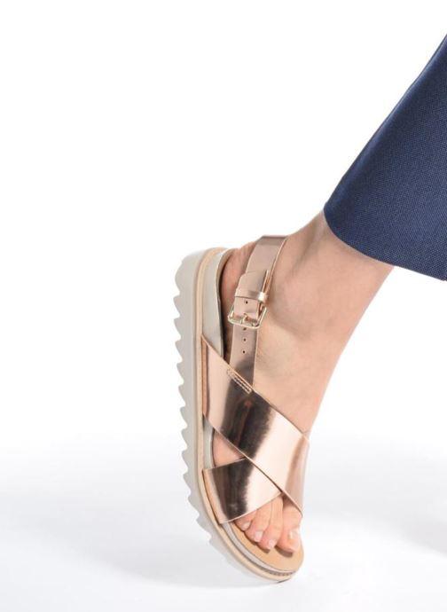 Sandalias Made by SARENZA Pastel Belle #8 Oro y bronce vista de abajo