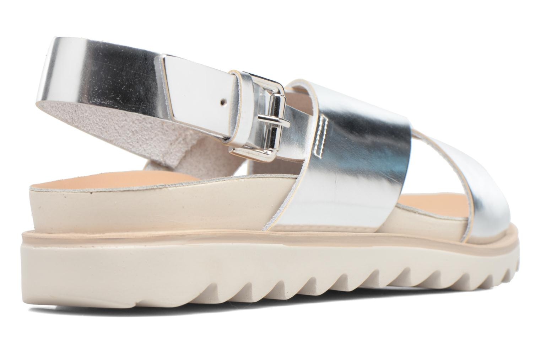 Sandalen Made by SARENZA Pastel Belle #8 Zilver voorkant