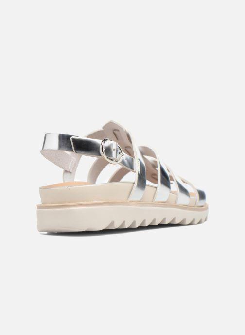 Sandales et nu-pieds Made by SARENZA Pastel Belle #13 Argent vue face