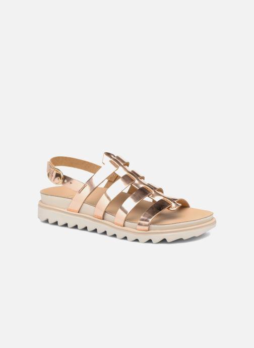 Sandalias Made by SARENZA Pastel Belle #13 Oro y bronce vista lateral derecha