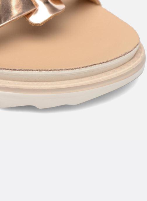 Sandales et nu-pieds Made by SARENZA Pastel Belle #13 Or et bronze vue gauche