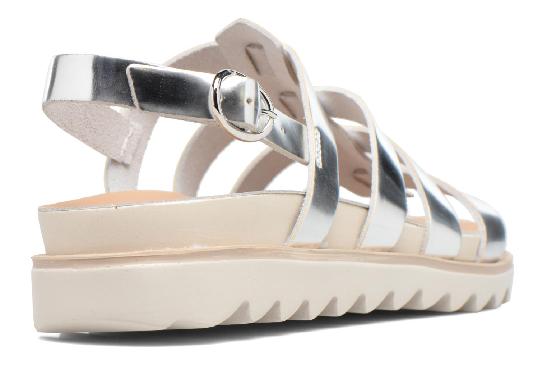 Sandalen Made by SARENZA Pastel Belle #13 Zilver voorkant