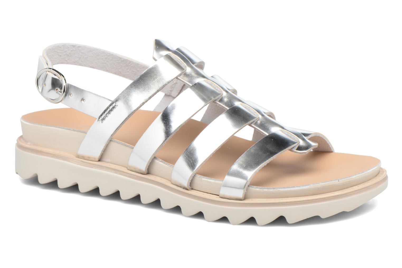 Sandalen Made by SARENZA Pastel Belle #13 Zilver rechts