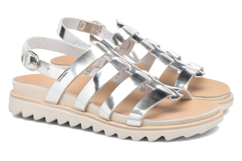 Sandalen Made by SARENZA Pastel Belle #13 Zilver achterkant