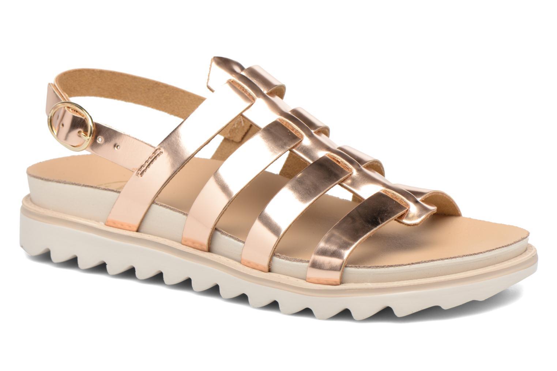 Sandalen Made by SARENZA Pastel Belle #13 Goud en brons rechts