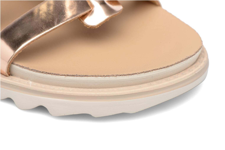 Sandalen Made by SARENZA Pastel Belle #13 Goud en brons links