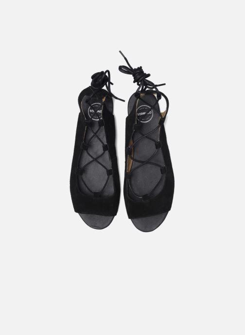 Sandalias Made by SARENZA Tennesse Sister #6 Negro vista del modelo