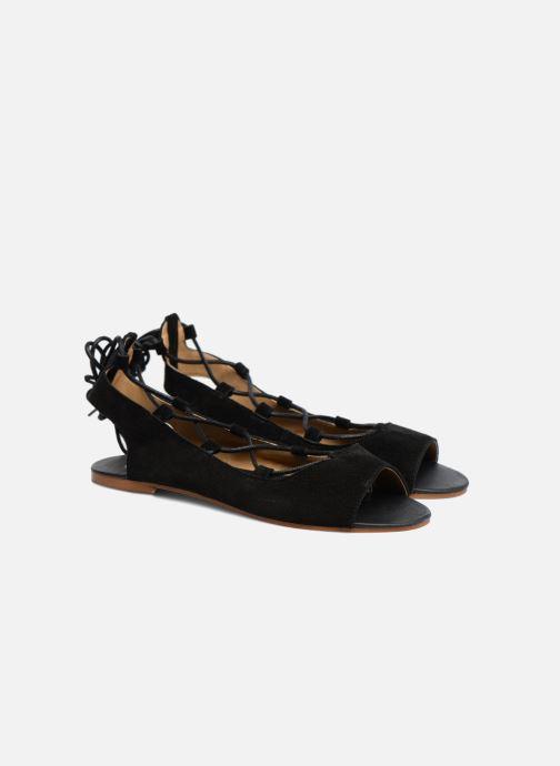 Sandales et nu-pieds Made by SARENZA Tennesse Sister #6 Noir vue derrière
