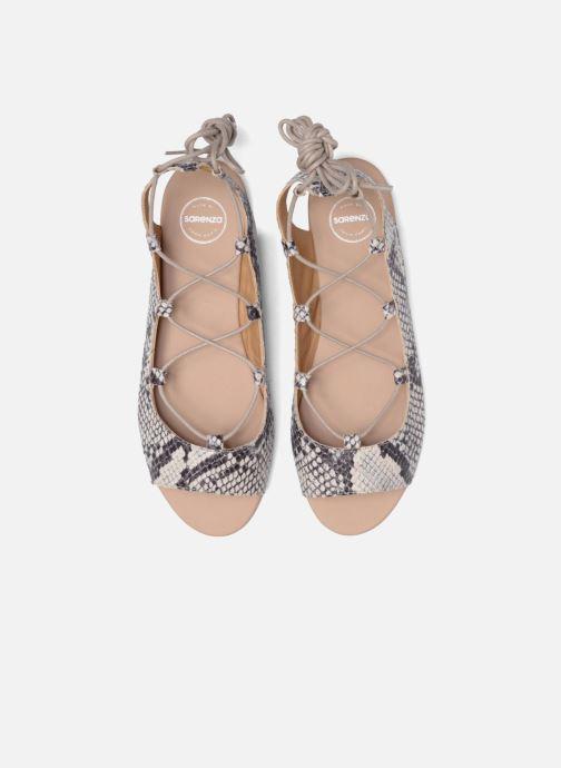 Sandalias Made by SARENZA Tennesse Sister #6 Beige vista del modelo