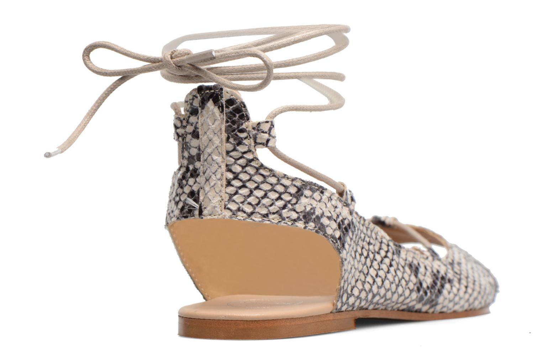 Sandalen Made by SARENZA Tennesse Sister #6 Beige voorkant