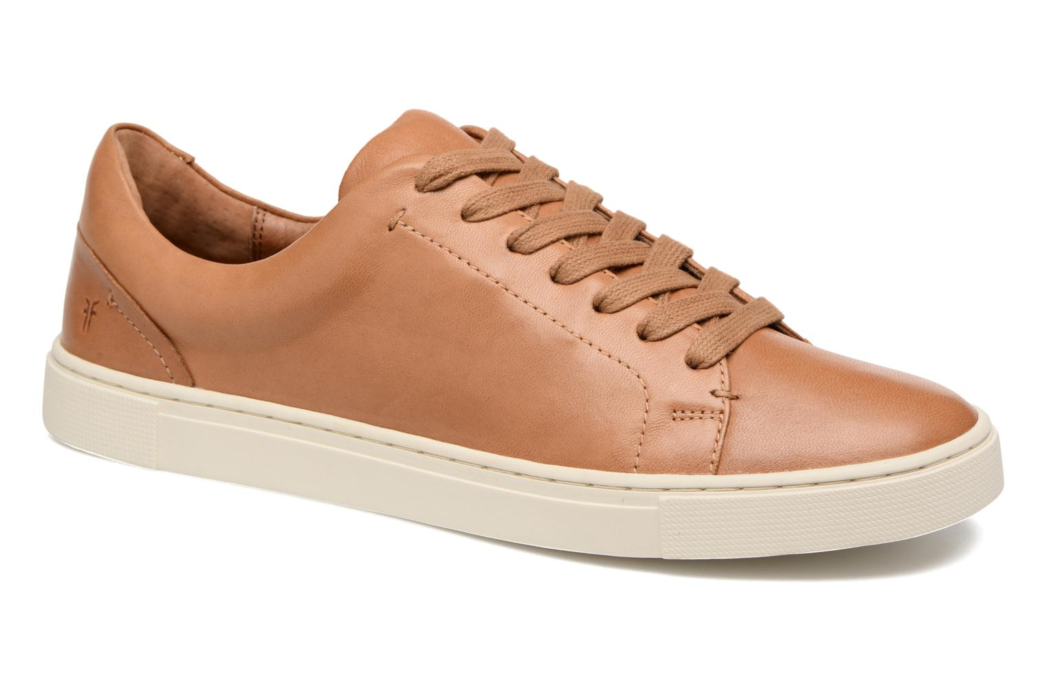 Sneakers Frye Ivy Low Lace Bruin detail