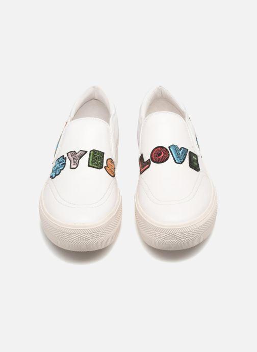 Sneakers Ash Jess Slip On Wit 3/4'