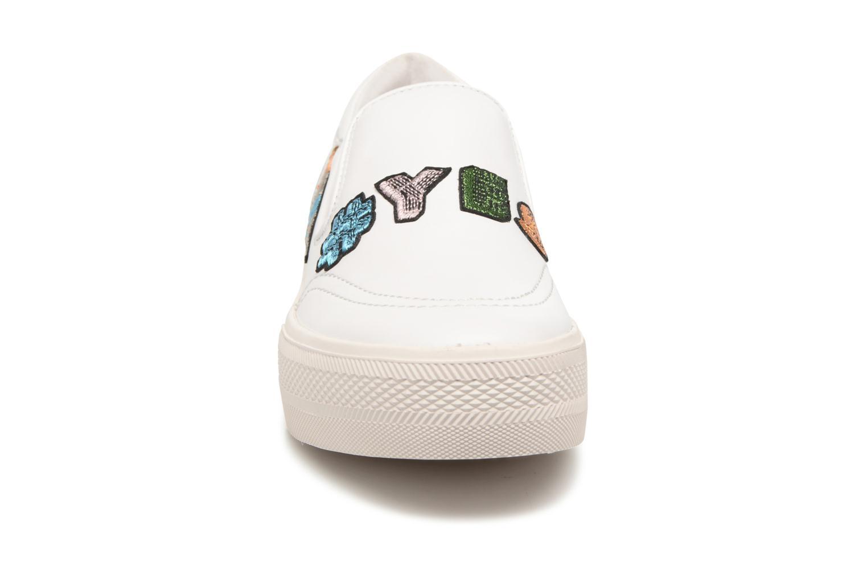 Baskets Ash Jess Slip On Blanc vue portées chaussures