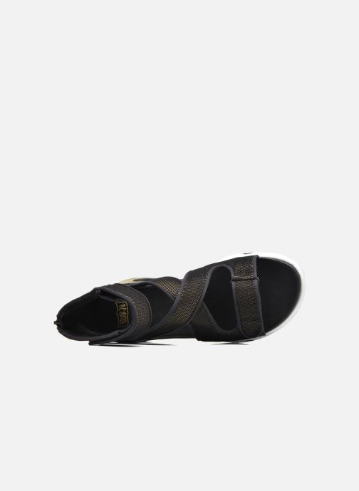 Sandalen Ash Lips Sandal Zwart links