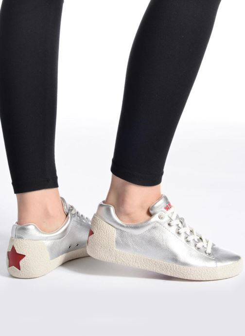 Sneakers Ash Nicky Zilver onder
