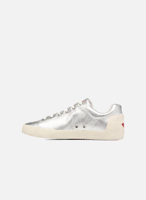 Sneakers Ash Nicky Zilver voorkant