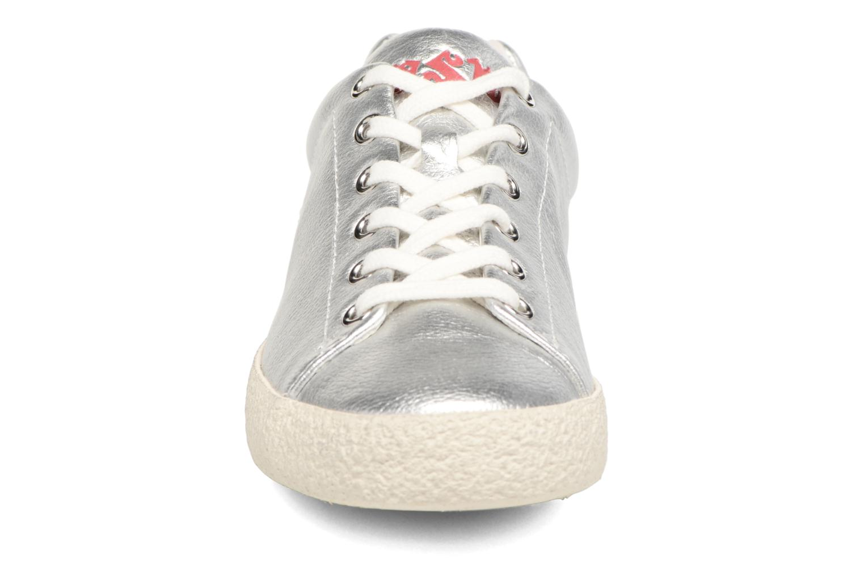 Baskets Ash Nicky Argent vue portées chaussures