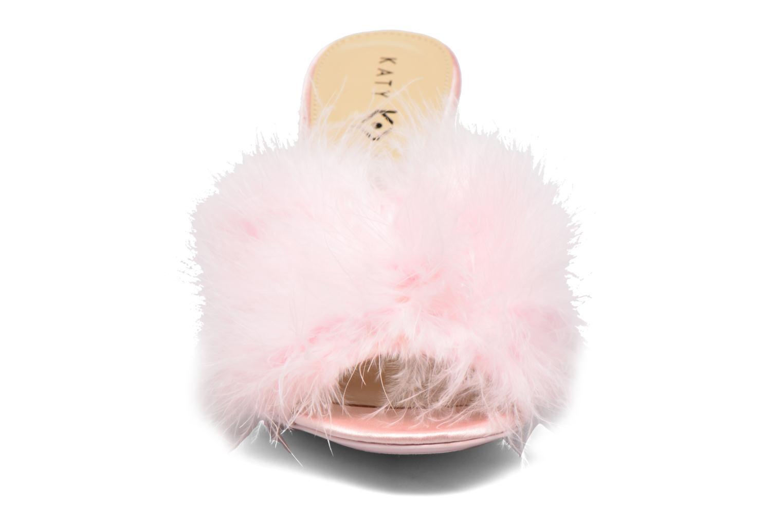 Zoccoli Katy Perry The Bon-Bon Rosa modello indossato